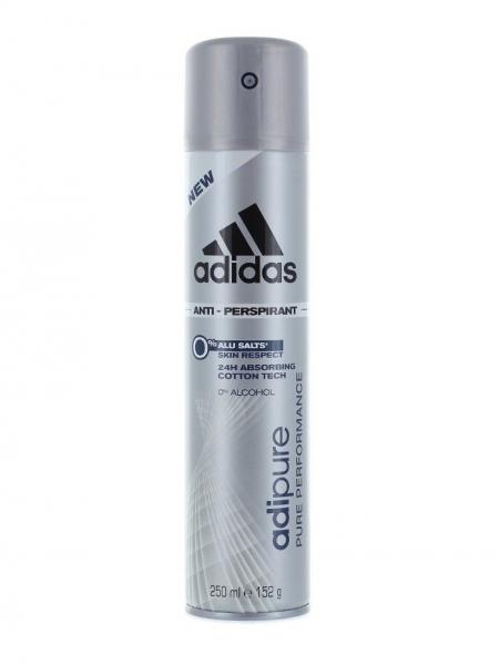 Adidas Deodorant spray, Barbati, 250 ml, Adipure