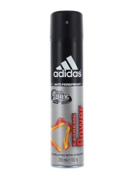 Adidas Deodorant spray, Barbati, 250 ml, Extreme Power