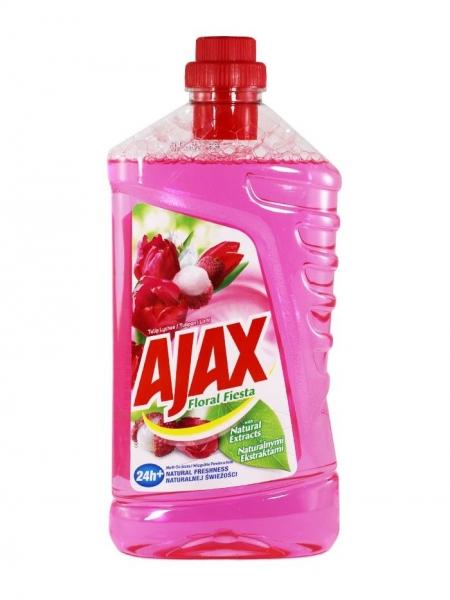Ajax Detergent Pardoseli, 1L, Tulip Lychee