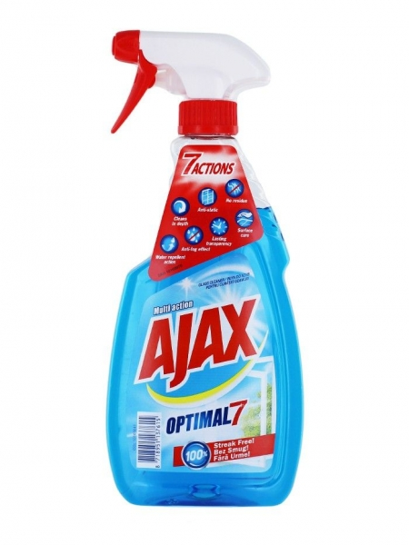 Ajax Solutie curatat geamuri, 500 ml, Multi Action