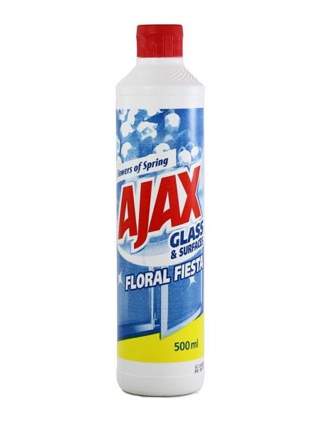 Ajax Solutie curatat geamuri, Rezerva, 500 ml, Spring