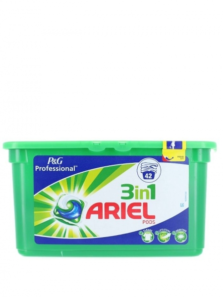 Ariel Detergent Capsule 3in1, 42 buc, Regular