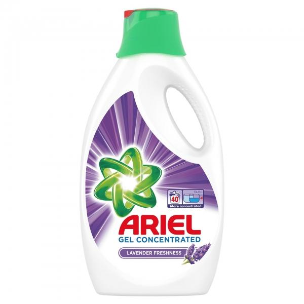 Ariel Detergent lichid, 2.2L, 40 spalari, Lavanda