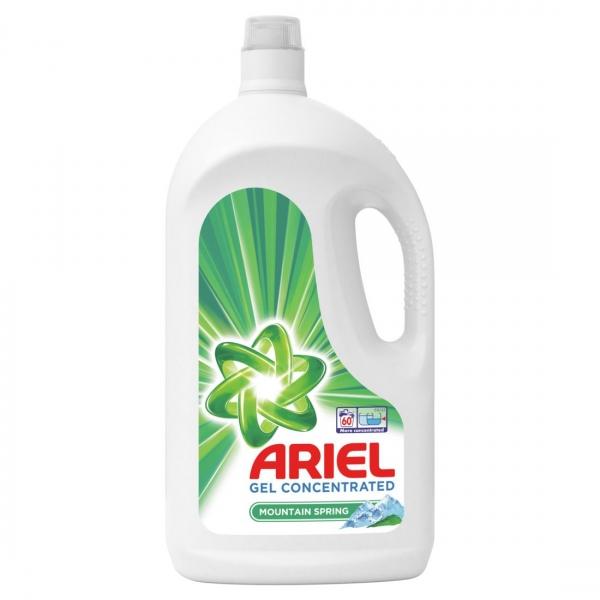 Ariel Detergent lichid, 3.3L, 60 spalari, Mountain Spring 0