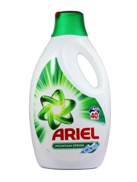 Ariel Detergent lichid, 2.6L, 40 spalari, Mountain Spring 0
