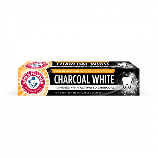 Arm and Hammer Pasta de dinti, Charcoal White, 75 ml