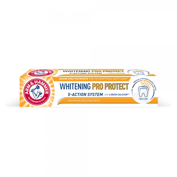 Arm and Hammer Pasta de dinti, Whitening Pro Protect, 75 ml