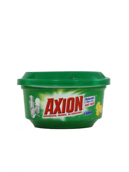 Axion Detergent pasta pentru vase, 225 g, Lemon 0