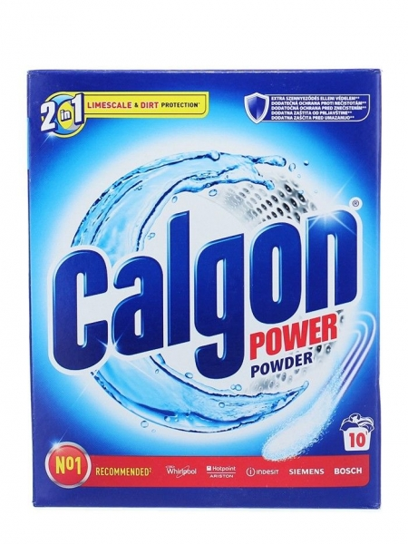 Calgon Pudra anticalcar, 500 g, 2in1 Protect & Clean
