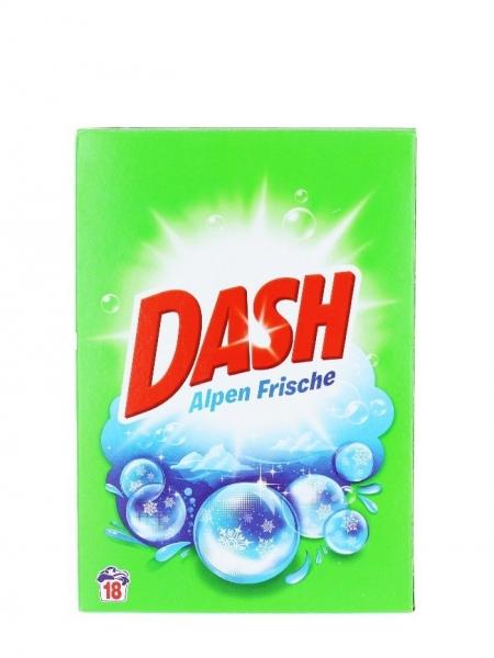Dash Detergent automat, 1.170 kg, 18 spalari, Alpen Frische