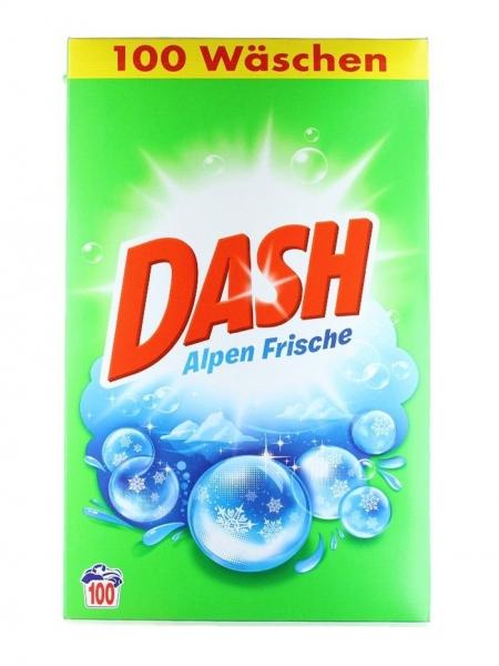 Dash Detergent automat, 6.5 kg, 100 spalari, Alpen Frische
