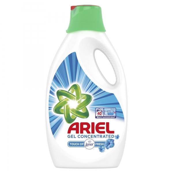 Ariel Detergent lichid, 2.2L, 40 spalari, Touch of Lenor Fresh