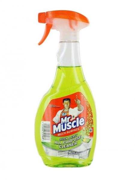Mr. Muscle Solutie curatat multisuprafete, 500 ml, Citrus Lime