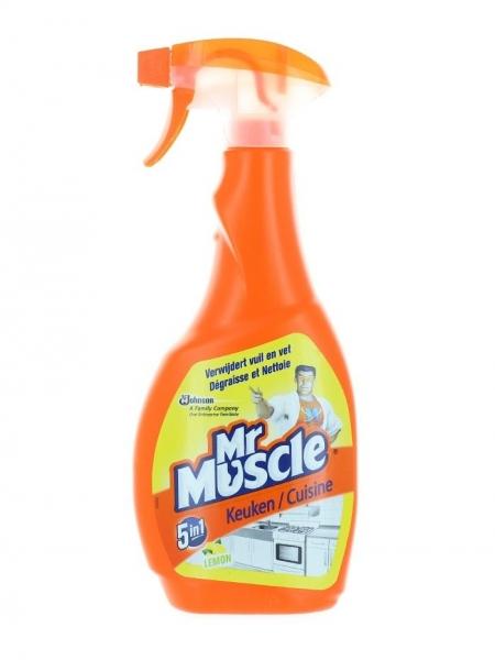 Mr. Muscle Solutie curatat suprafete bucatarie, cu pompa, 500 ml, 5in1 Kitchen Care