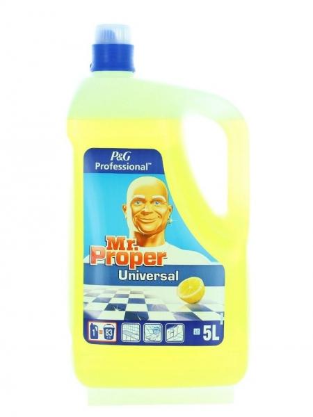 Mr. Proper Detergent universal, 5 L, Lemon 0
