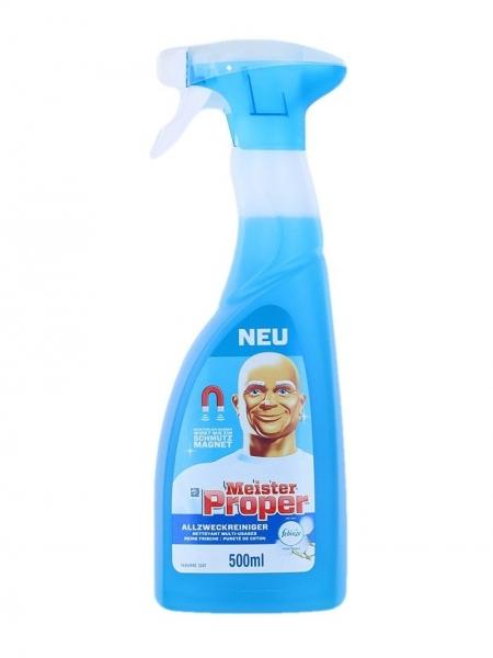 Mr. Proper Solutie curatat suprafete, cu pompa, 500 ml, Cotton Fresh