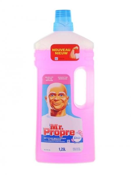 Mr. Proper Detergent pardoseli, 1.25 L, Fleur Naissante