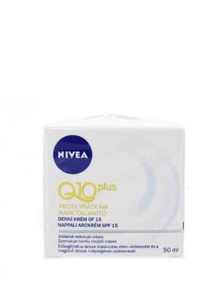 Nivea Crema de zi, Antirid, 50 ml, Q10 Plus FPS 15