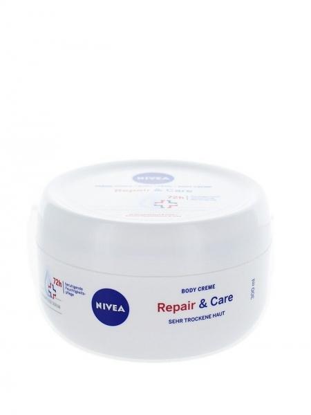 Nivea Crema de corp, 300 ml, Repair & Care