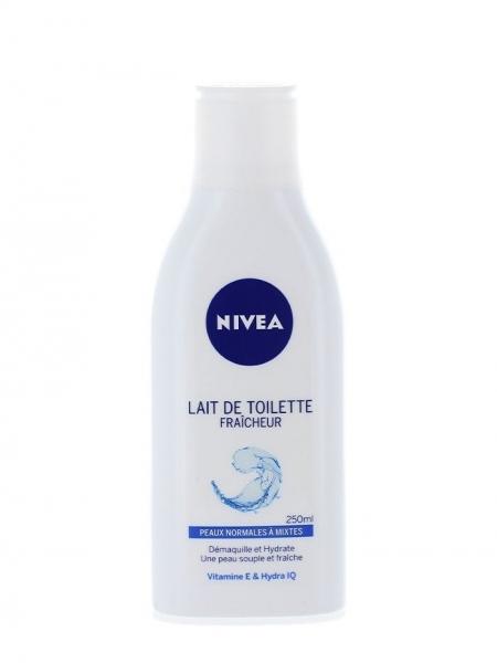 Nivea Lapte demachiant, 250 ml, Refreshing