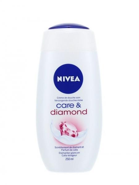 Nivea Gel de dus, 250 ml, Care & Diamond