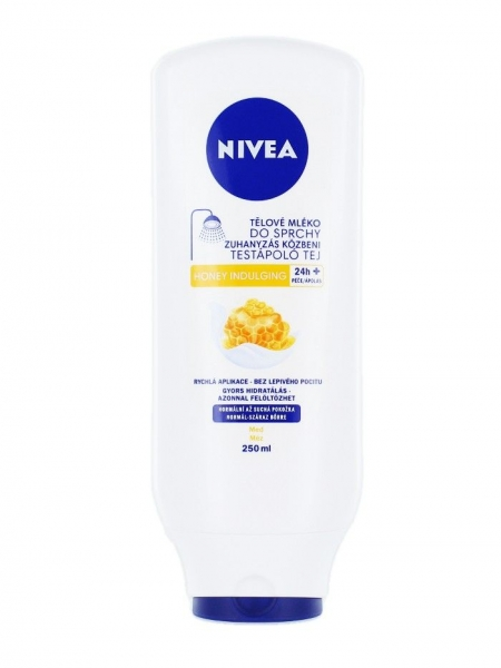 Nivea Lapte de corp sub dus, 250 ml, Honey Indulging