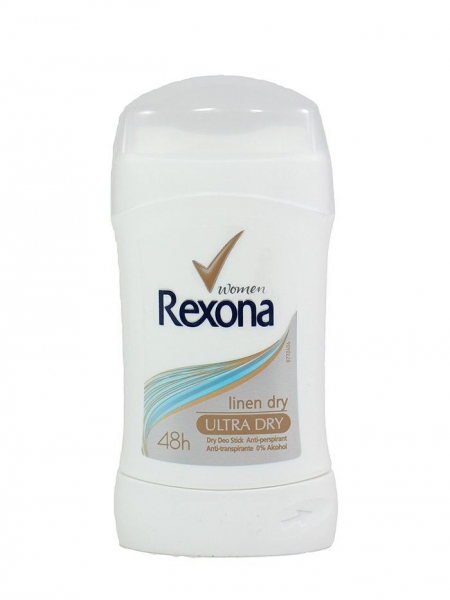 Rexona Deodorant stick, Femei, 40 ml, Linen Dry 0
