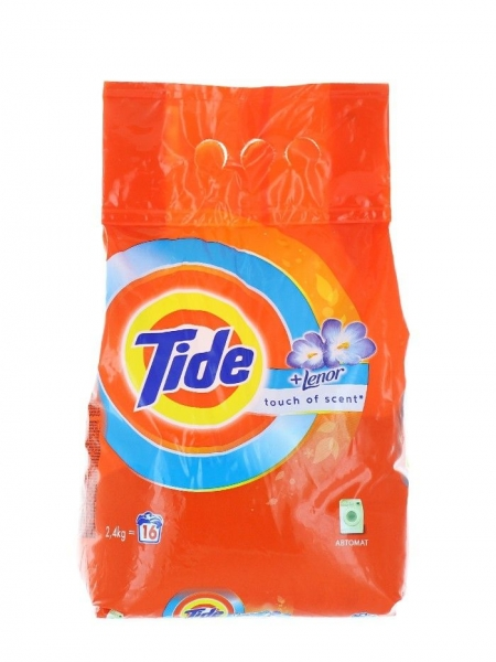 Tide Detergent automat, 2.4 kg, 16 spalari, Touch of Lenor 0