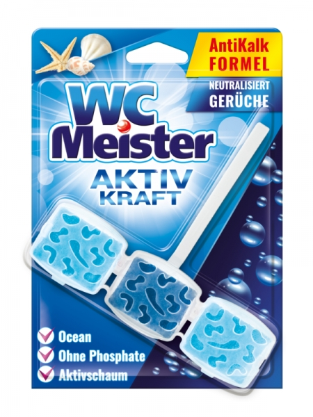 WC Meister Odorizant WC, 45 g, Ocean Scent 0