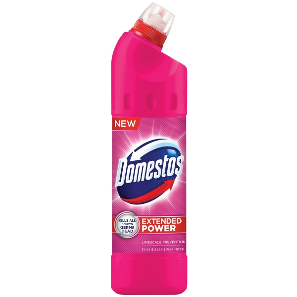 Domestos Dezinfectant WC, 750 ml, Pink Fresh 0