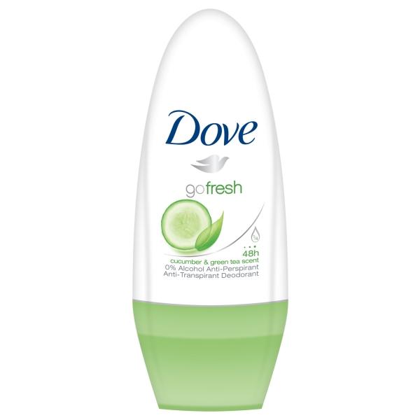 Dove Deodorant Roll-on, Femei, 50 ml, Cucumber and Green Tea 0