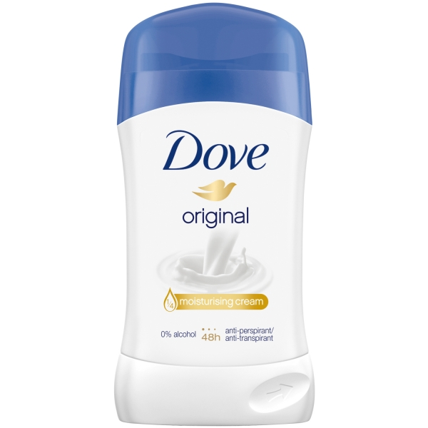 Dove Deodorant stick, Femei, 40 ml, Original 0