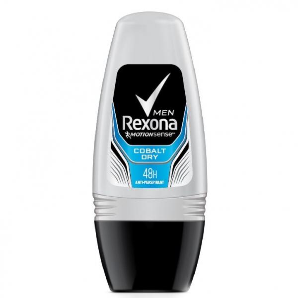 Rexona Deodorant Roll-on, Barbati, 50 ml, Cobalt Dry 0
