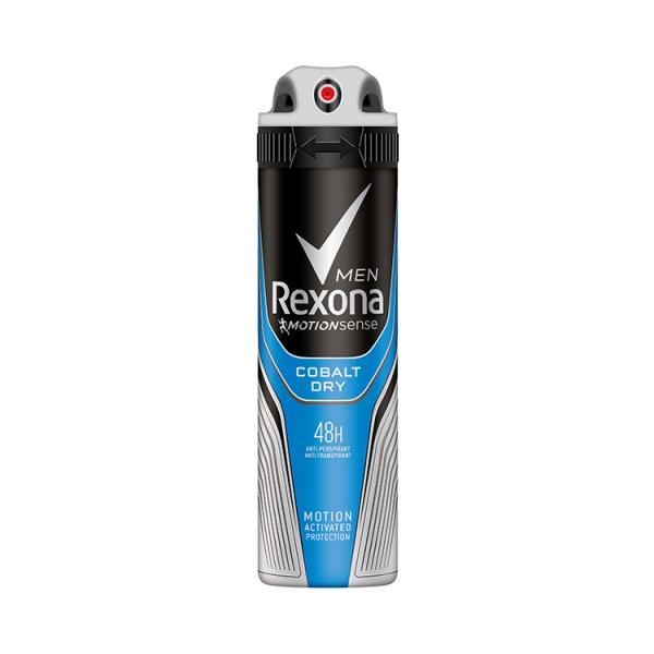 Rexona Deodorant spray, Barbati, 150 ml, Cobalt Dry 0