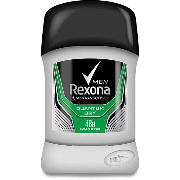 Rexona Deodorant stick, Barbati, 50 ml, Quantum Dry 0