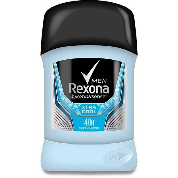 Rexona Deodorant stick, Barbati, 50 ml, XtraCool 0